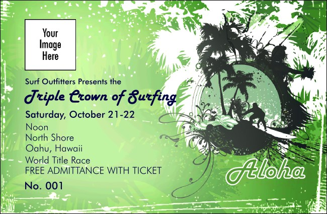 Aloha Drink Ticket