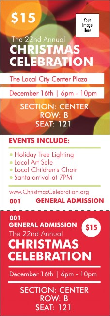 Holiday Lights Reserved Event Ticket