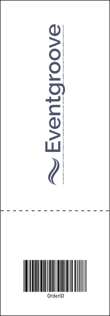 Black Tie Reserved Event Ticket Product Back