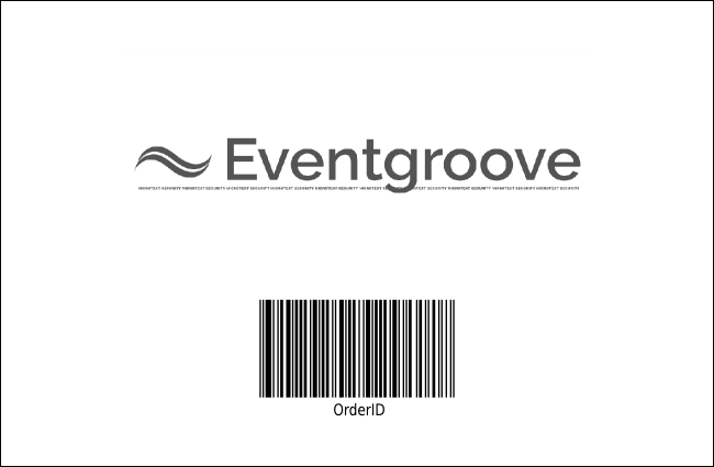 Portland Drink Ticket (black and white) Product Back