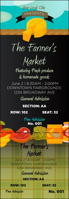 Farmer's Market Reserved Event Ticket
