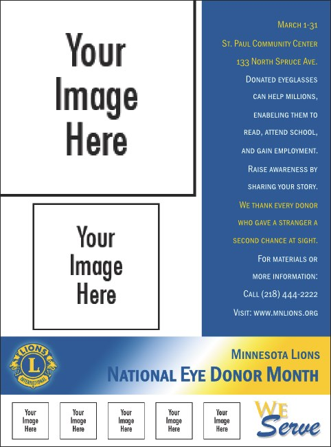 Lions Club International Flyer 002