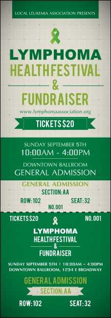 Lymphoma Reserved Event Ticket