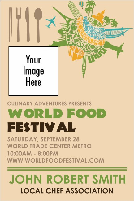 Food Festival Economy Event Badge