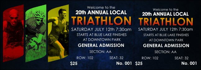 Triathlon Reserved Event Ticket