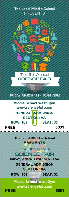 Science Fair Reserved Event Ticket