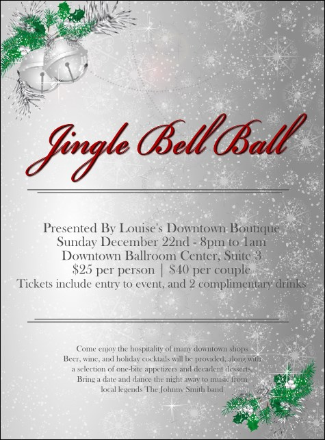 Jingle Bells Flyer