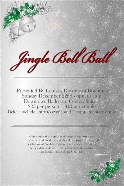 Jingle Bells Poster Product Front