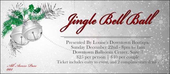 Jingle Bells VIP Pass