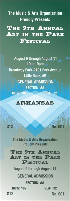 Arkansas Reserved Event Ticket
