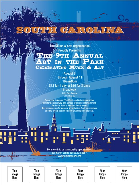 South Carolina Flyer Product Front