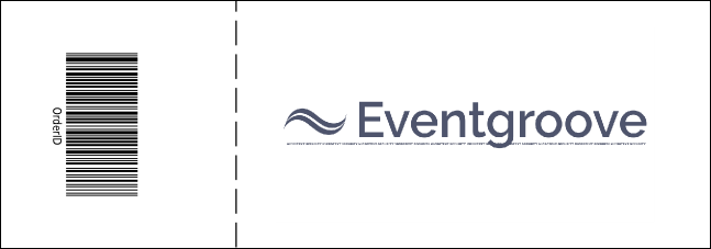 Blue Image Reserved Event Ticket