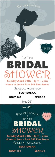 Bridal Reserved Event Ticket