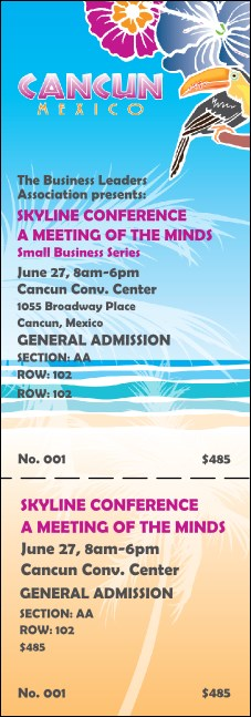 Cancun Reserved Event Ticket