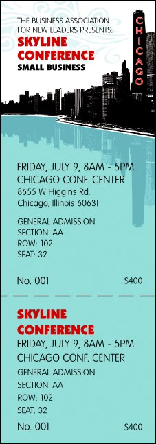 Chicago Reserved Event Ticket