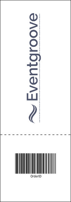 Christmas 001 Reserved Event Ticket Product Back