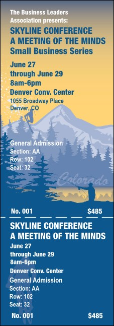 Colorado Reserved Event Ticket