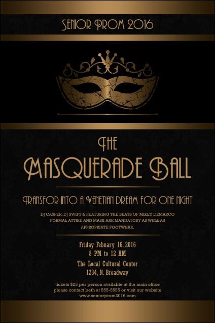 masquerade ball 3 poster