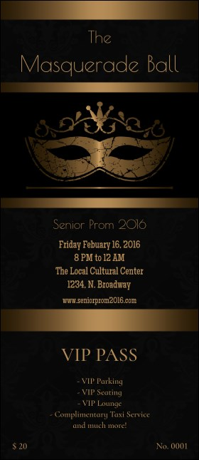 Masquerade Ball 3 VIP Pass