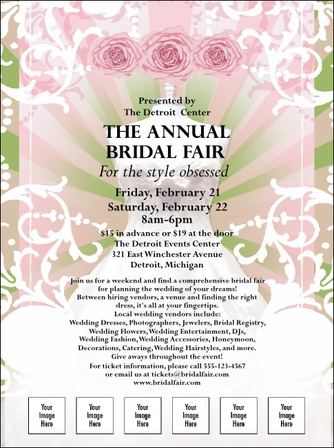 Bridal Fair Flyer