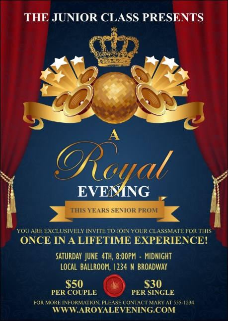 Royal Club Flyer