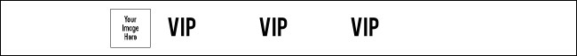 VIP Tyvek Wristband Product Front