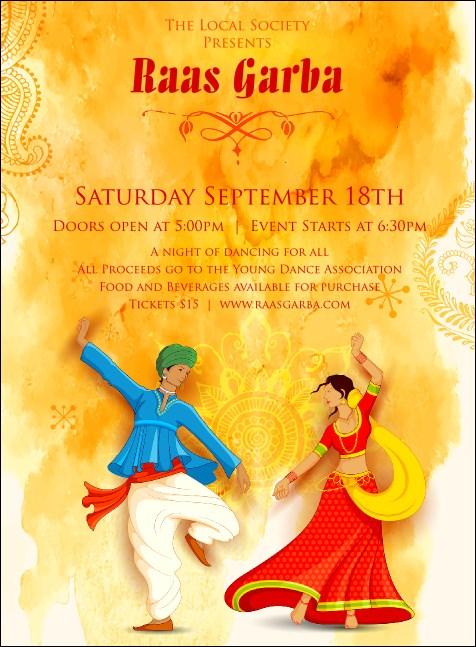 Raas Garba Invitation