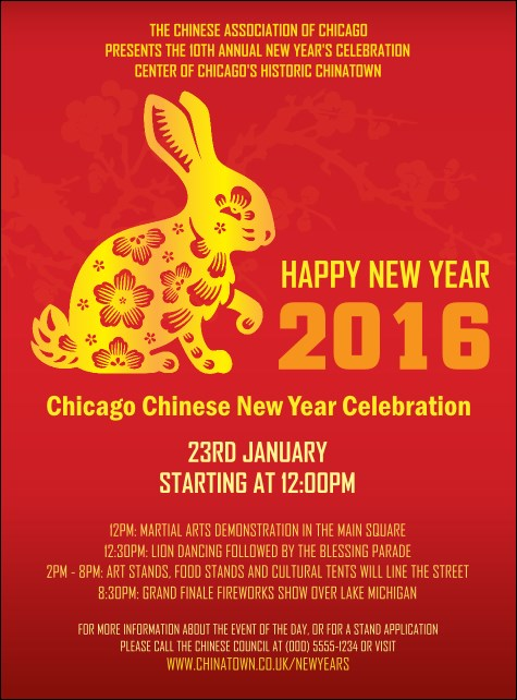 Chinese New Year Rabbit Flyer