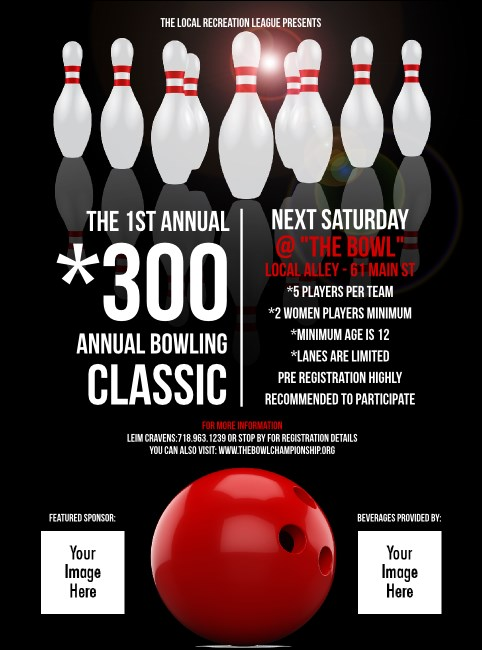 Bowling Classic Flyer