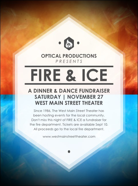 Fire and Ice Flyer