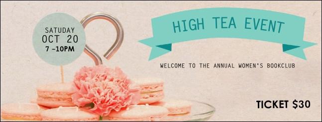 High Tea Facebook Cover