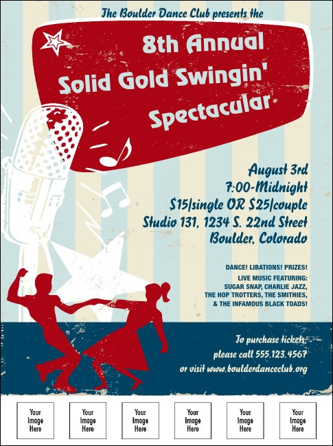 Swing Dance Flyer Product Front