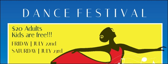 Dance Festival Facebook Cover