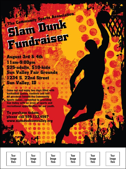 Basketball Logo Flyer