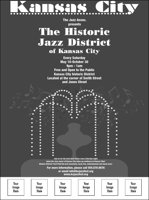 Kansas City Flyer (Black and White)