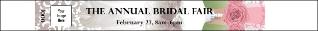 Bridal Fair  Premium Synthetic Wristband