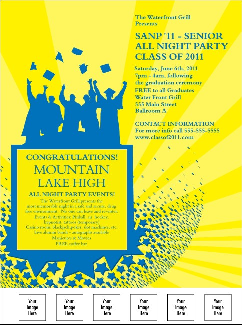 Bright Ideas Graduation Flyer