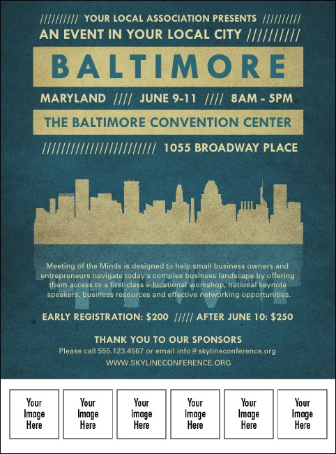 Baltimore Logo Flyer