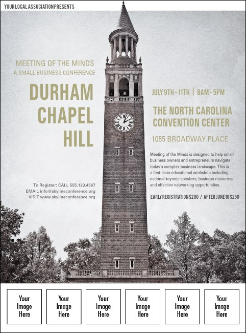 Chapel Hill Logo Flyer