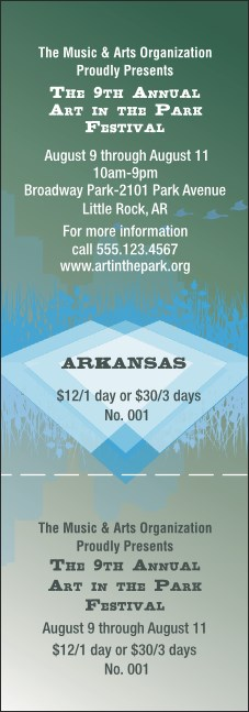 Arkansas General Admission Ticket