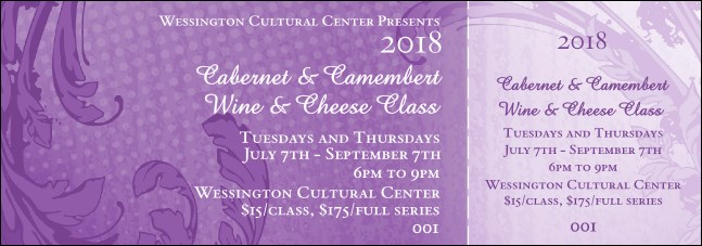 Year Classic Purple General Admission Ticket