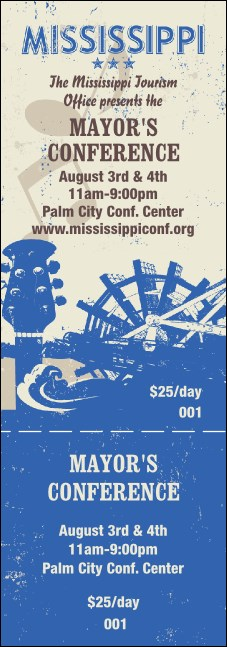 Mississippi General Admission Ticket