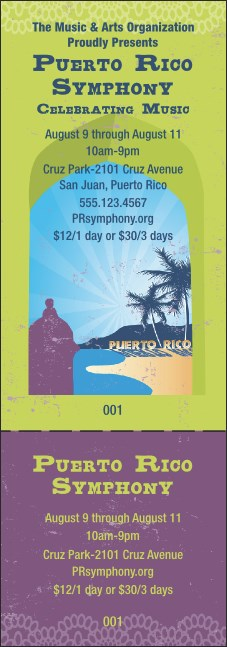 Puerto Rico General Admission Ticket