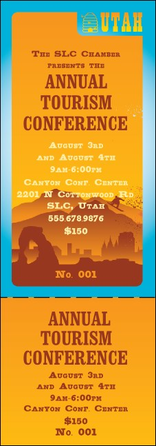 Utah General Admission Ticket