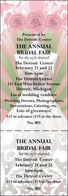 Bridal Fair General Admission Ticket