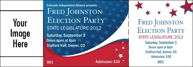 Patriotic Vote Event Ticket