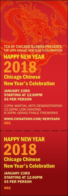 Chinese New Year General Admission