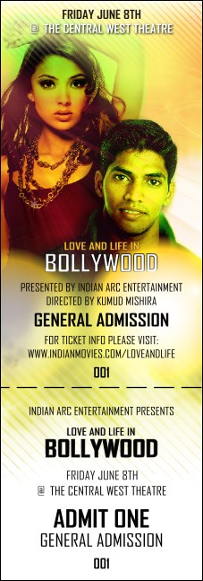 Bollywood General Admission Ticket