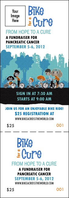 Bike for a Cause Event Ticket Product Front