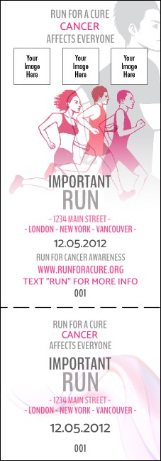Run for a Cause Pink Event Ticket